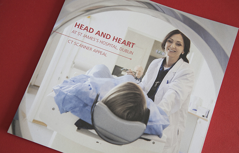 Head and Heart Appeal brochure design