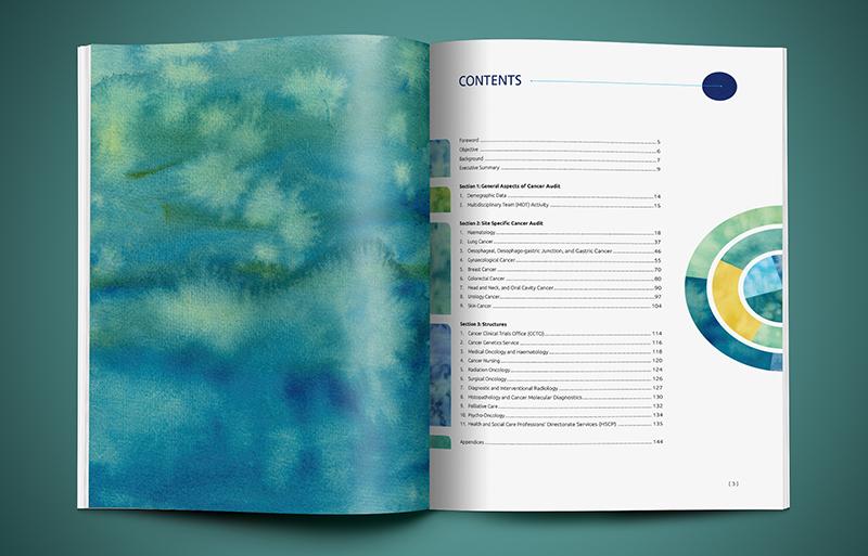 Cancer Audit report design