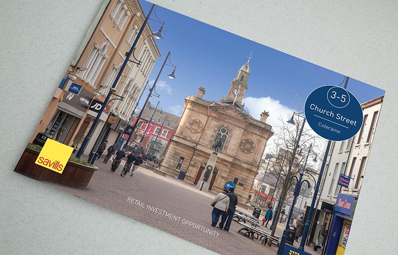 Investment property brochure design