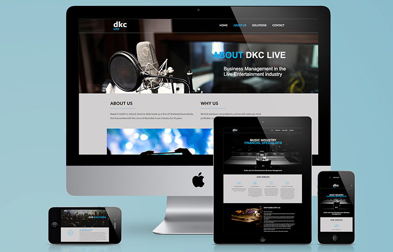DKC Live website 5
