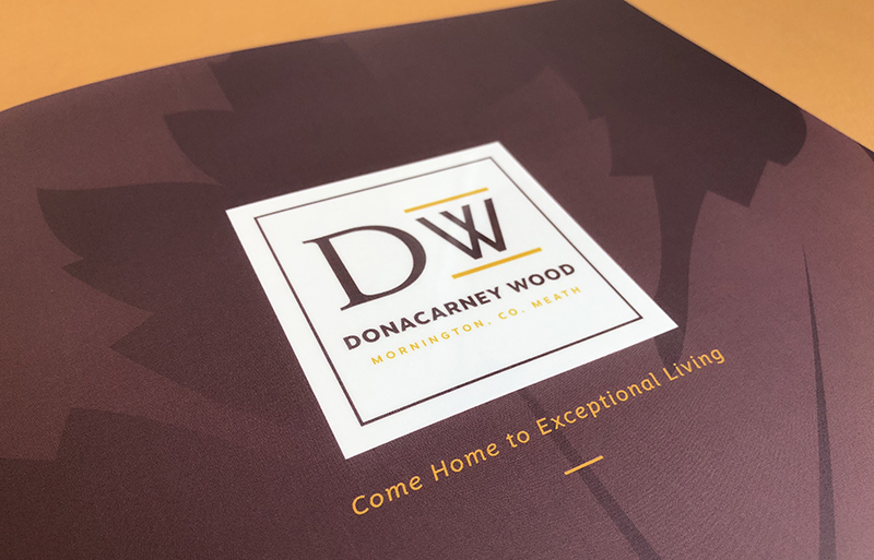 Donacarney Wood phase 2 brochure design