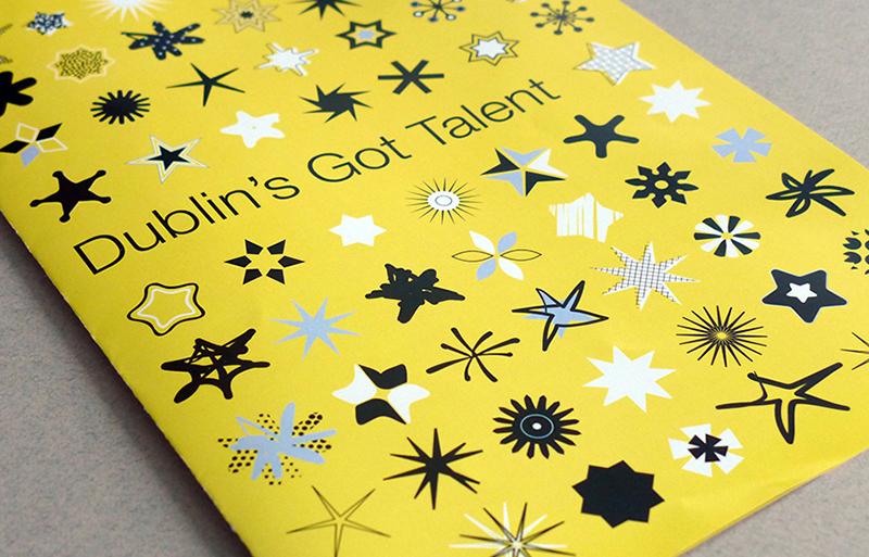 Dublin's Got Talent newsletter design