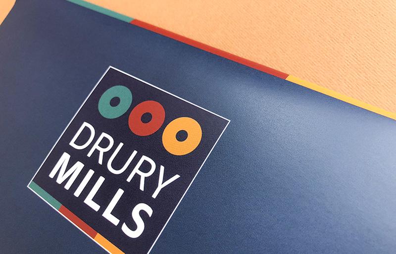 Drury Mills Brochure design
