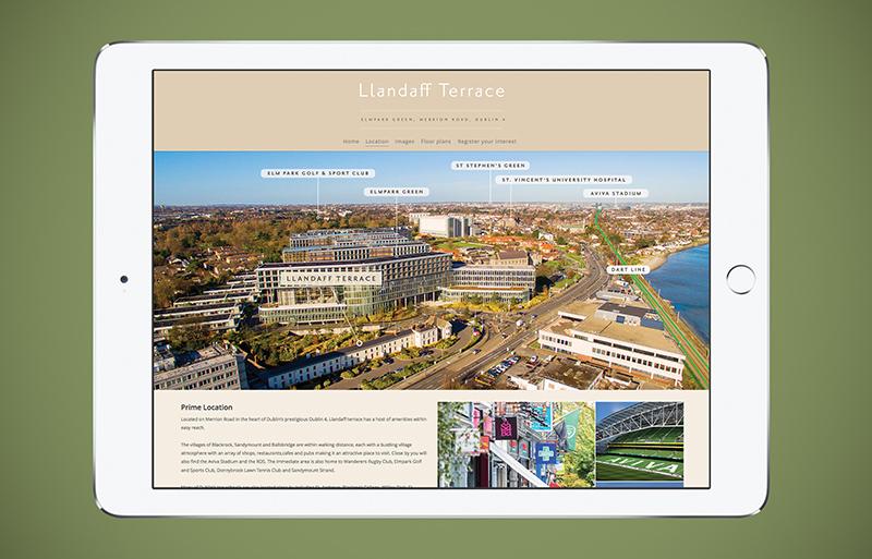 Llandaff Terrace website design