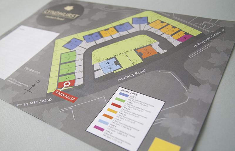 Lyndhurst property site map design