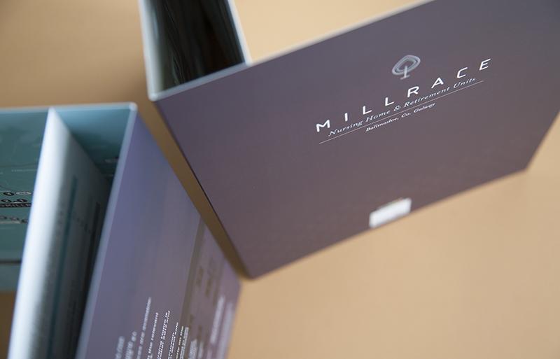 Millrace brochure design