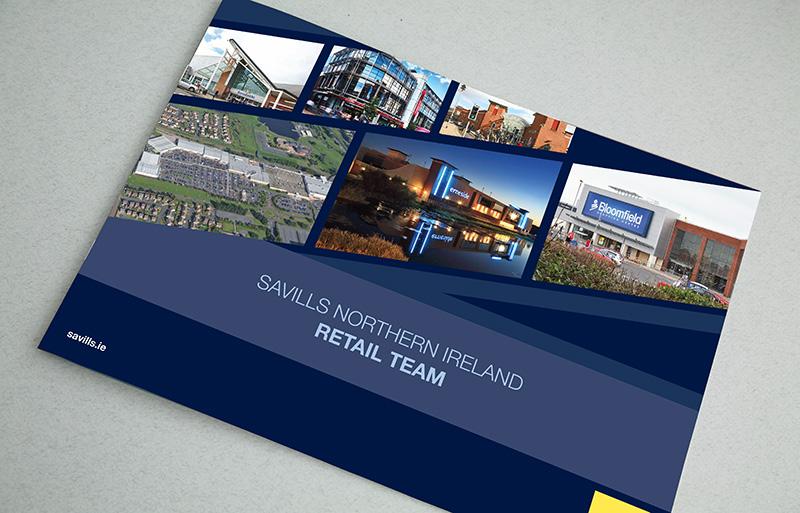 Northern Ireland Retail Team Brochure design