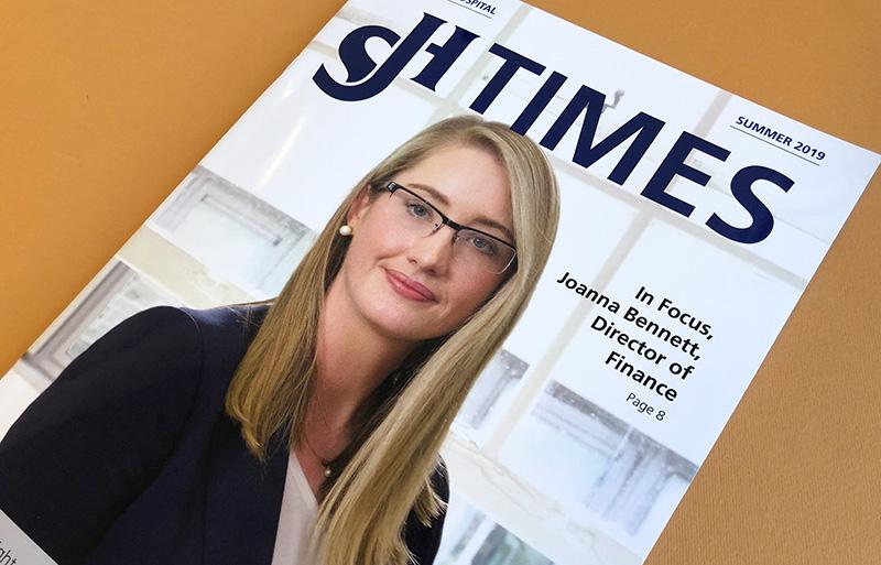 SJH Times Magazine Summer 2019