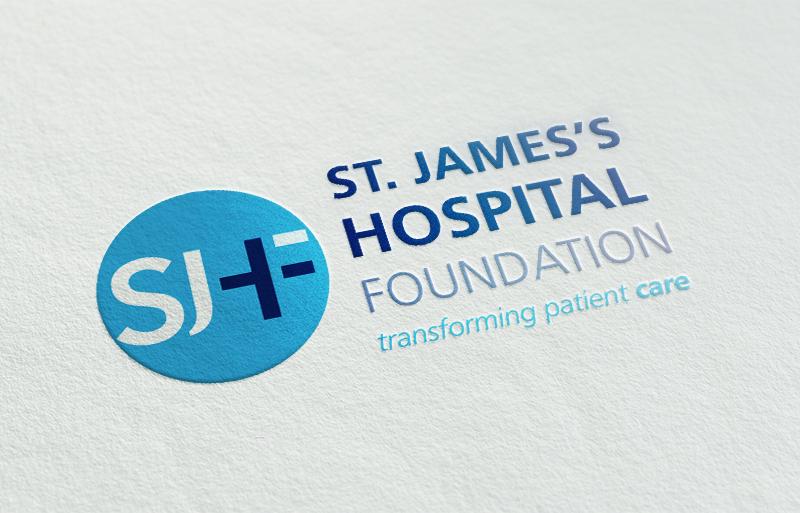 St. James's Hospital Foundation brand design
