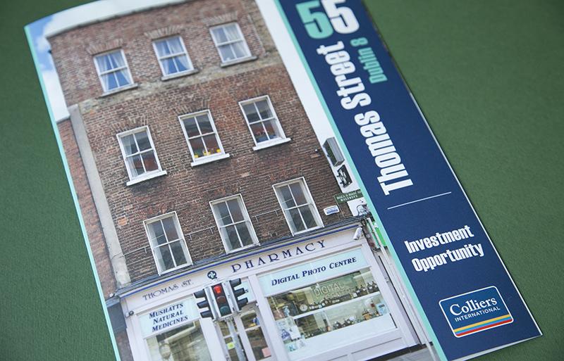 Thomas Street brochure design