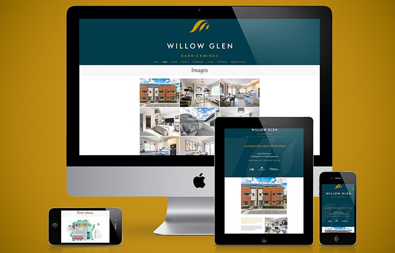 Willow Glen website design