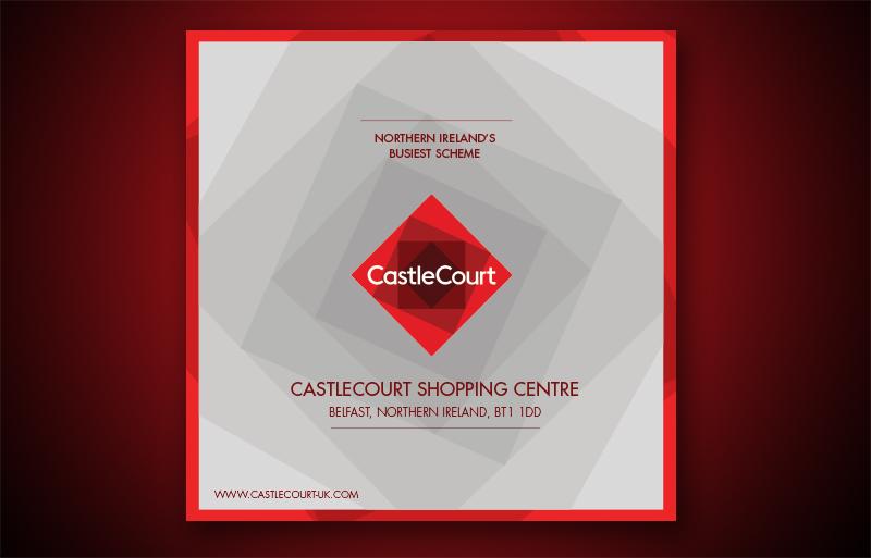 Castlecourt Shopping Centre brochure design