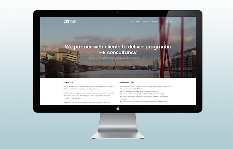 ckhr website design
