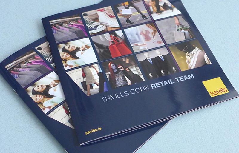 Retail Team Cork brochure design