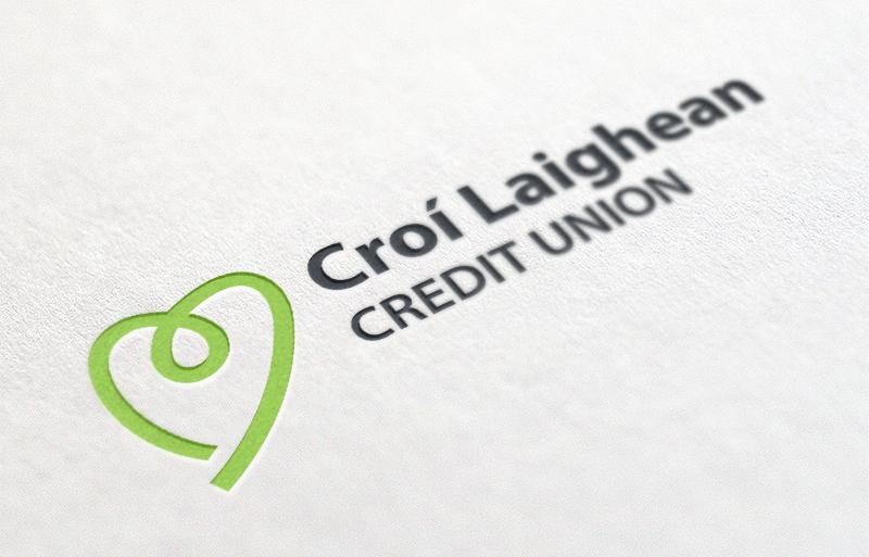 Croí Laighean Credit Union brand design