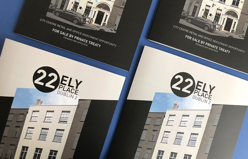 Ely Place brochure design