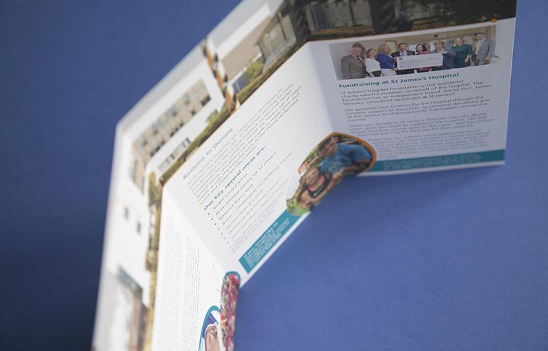 St James's Hospital Foundation fundraising leaflet