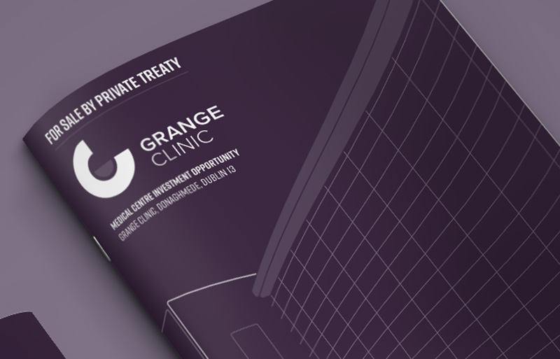 Grange Clinic brochure design