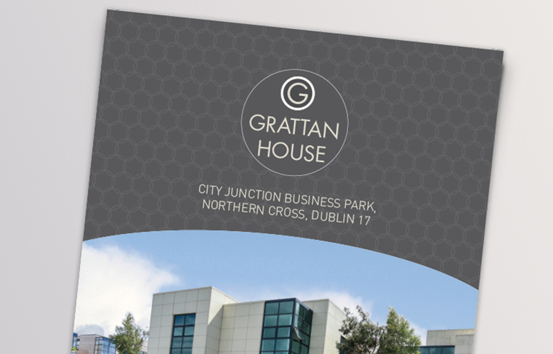 Grattan House property brochure design
