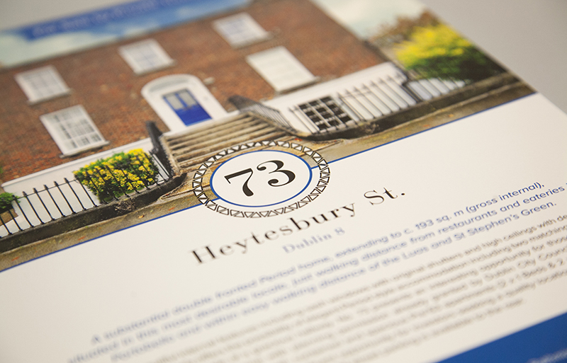 Heytesbury St brochure design