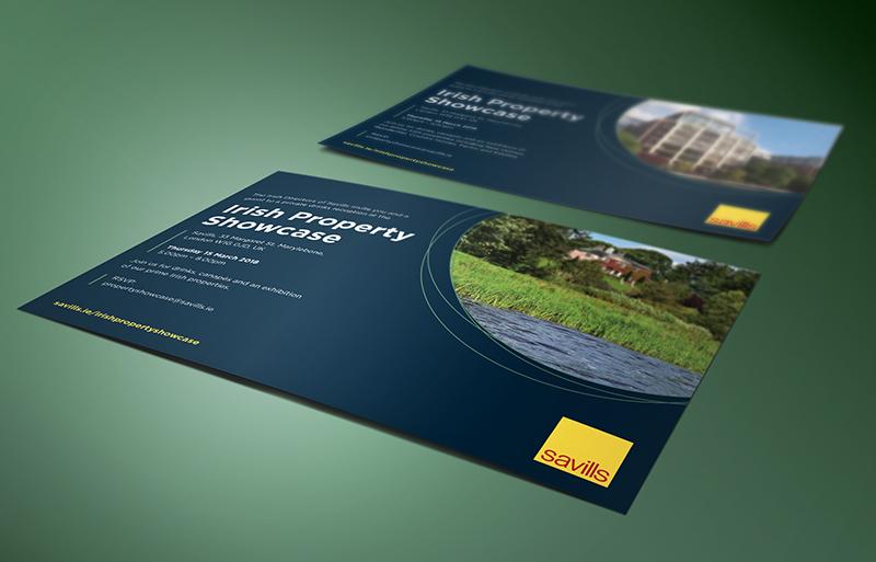 Irish Property Showcase invitation design