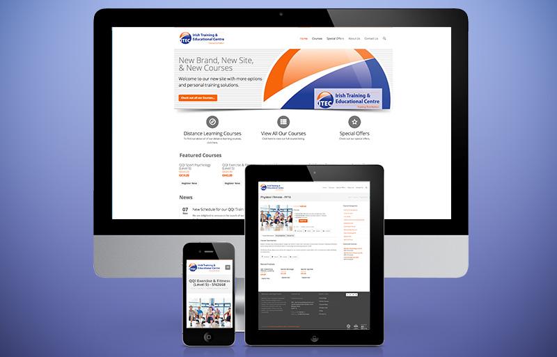 ITEC Dublin website design