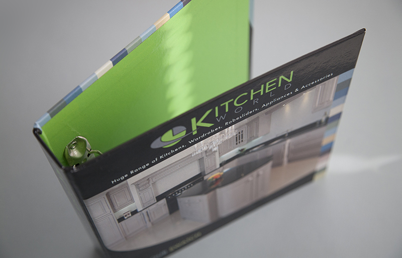 Kitchenworld folder design
