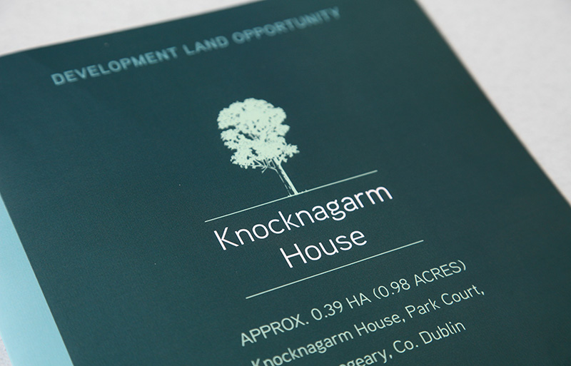 knocknagarm House brochure design