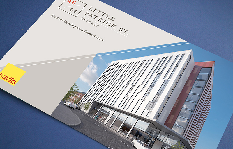 Belfast property investment brochure design