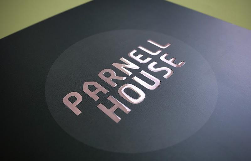 Parnell House Brochure design