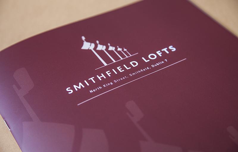 Smithfield Lofts brochure design
