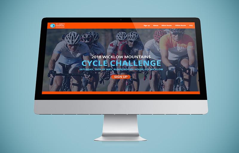 Wicklow Cycle website design