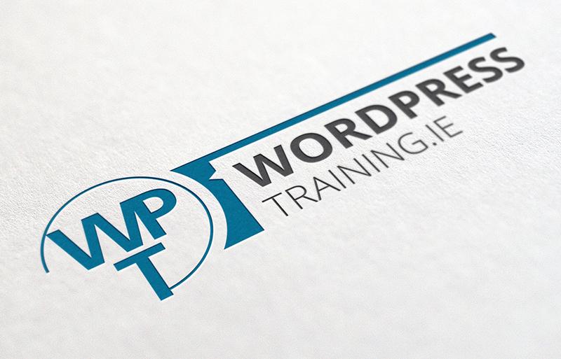 Wordpress Training Ireland logo design